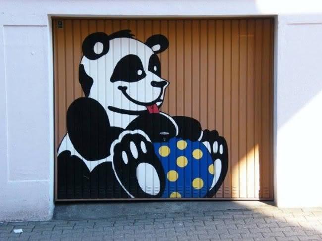 Arte em portão de garagem (12)
