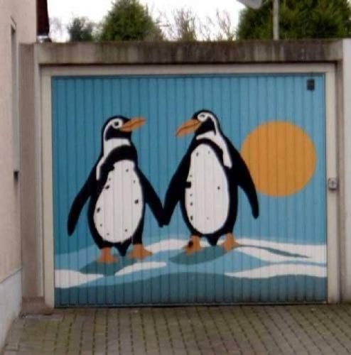 Arte em portão de garagem (14)