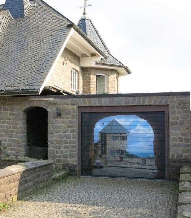 Arte em portão de garagem (18)