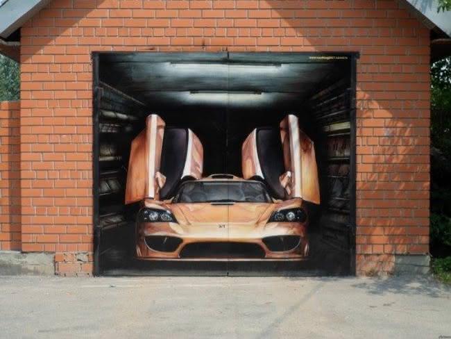 Arte em portão de garagem (19)