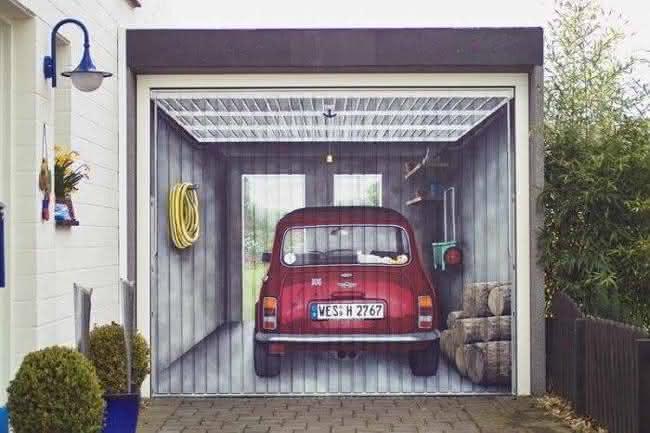 Arte em portão de garagem (21)