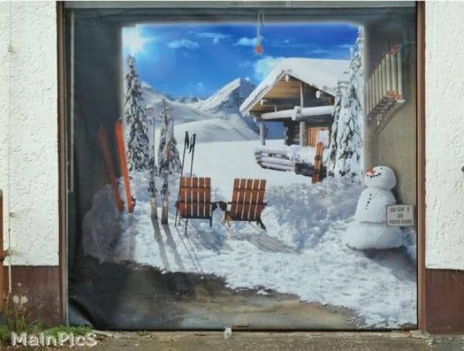 Arte em portão de garagem (24)