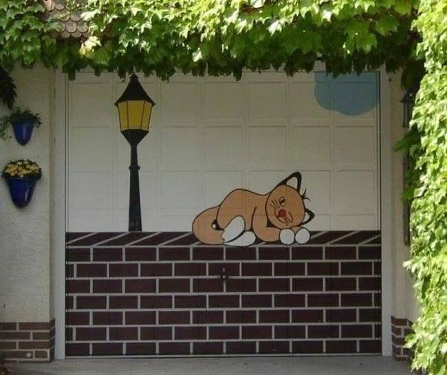Arte em portão de garagem (25)
