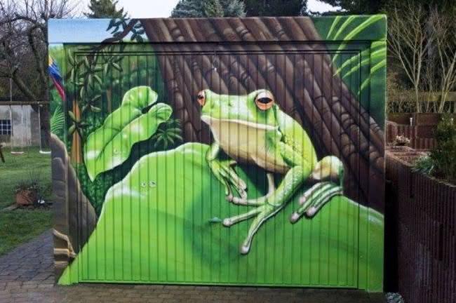 Arte em portão de garagem (26)
