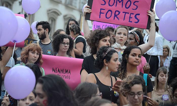 mulheres lutam por justiça no Brasil