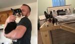 Homem faz prova de amor para namorada de um jeito diferente, envolvendo seu cãozinho