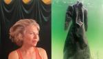 Essa mulher mergulhou um vestido no Mar Morto por 2 anos e algo surpreendente aconteceu