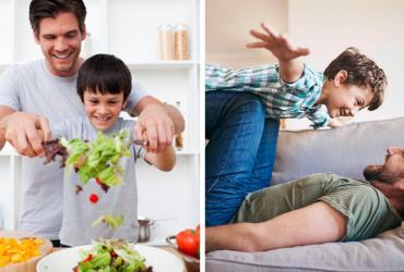 Pesquisa afirma que pais se tornaram mais íntimos com os filhos na quarentena