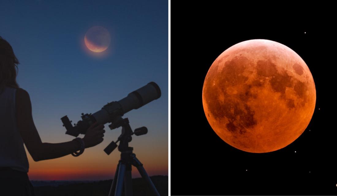 Site transmitirá eclipse lunar penumbral que ocorrerá em Julho. Se programe!