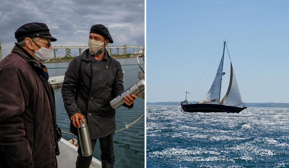 Esse homem passou 85 dias em alto mar, para rever os pais
