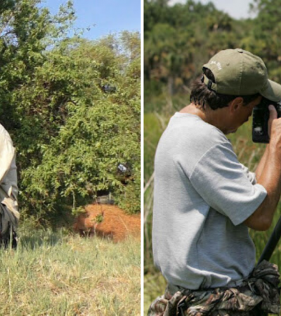 Fotógrafo decide tirar um cochilo e acaba recebendo companhia inusitada