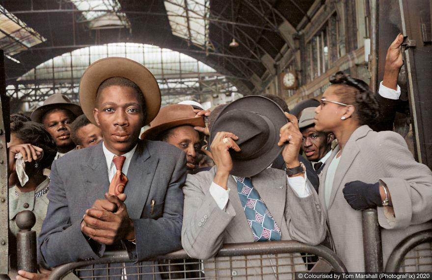 imigrantes negros em londres