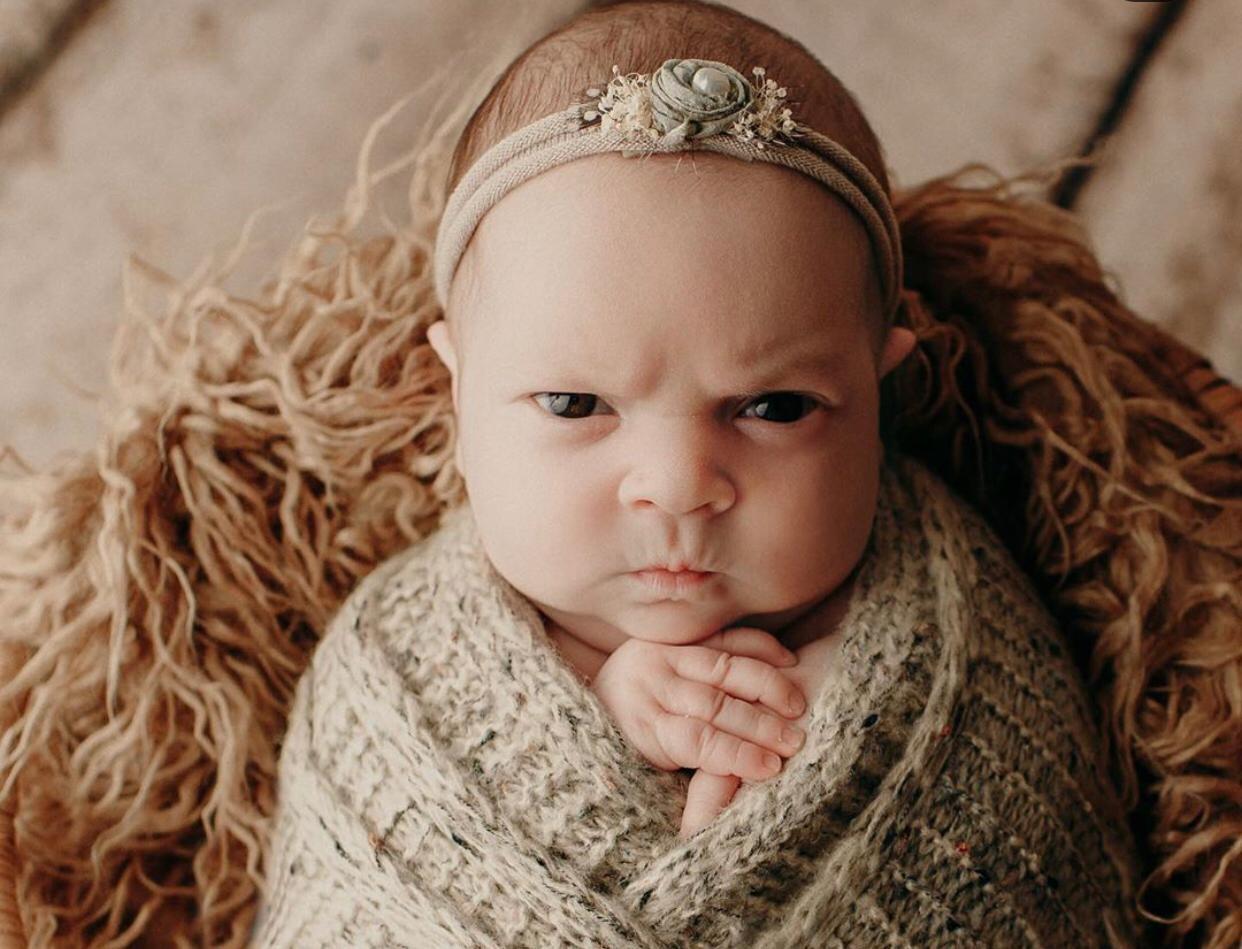 bebê-zangada
