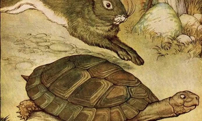 fábula-lebre-tartaruga