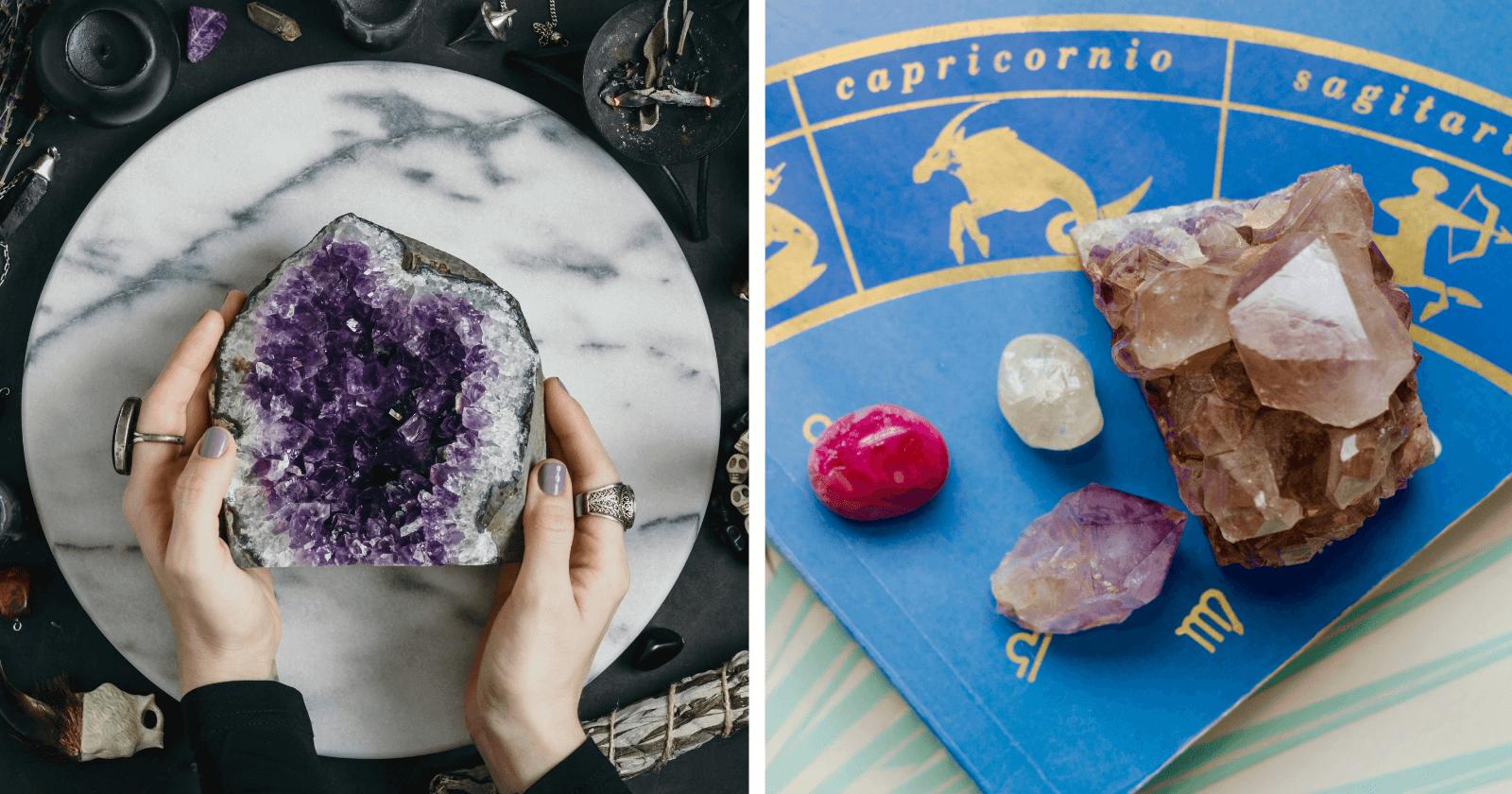 PEDRAS DOS SIGNOS: qual é o seu cristal, o que significa e como ter sua energia!