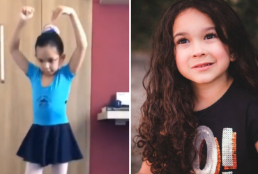 Vídeo de garotinha com paralisia cerebral dançando balé é uma das coisas mais lindas do mundo!