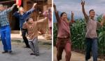 Casal cria dança para combater a depressão e 'embaralhamento rural' viraliza