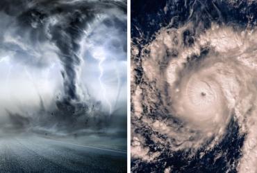 Entenda a diferença entre furacão, ciclone e tornado!
