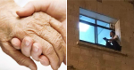 Web conforta palestino que escalou parede de hospital, para ver a mãe pela última vez