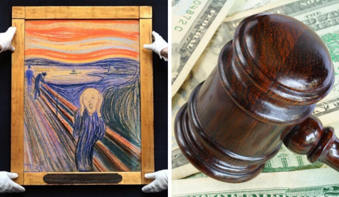 Conheça as obras de artes mais caras do mundo vendidas em leilões
