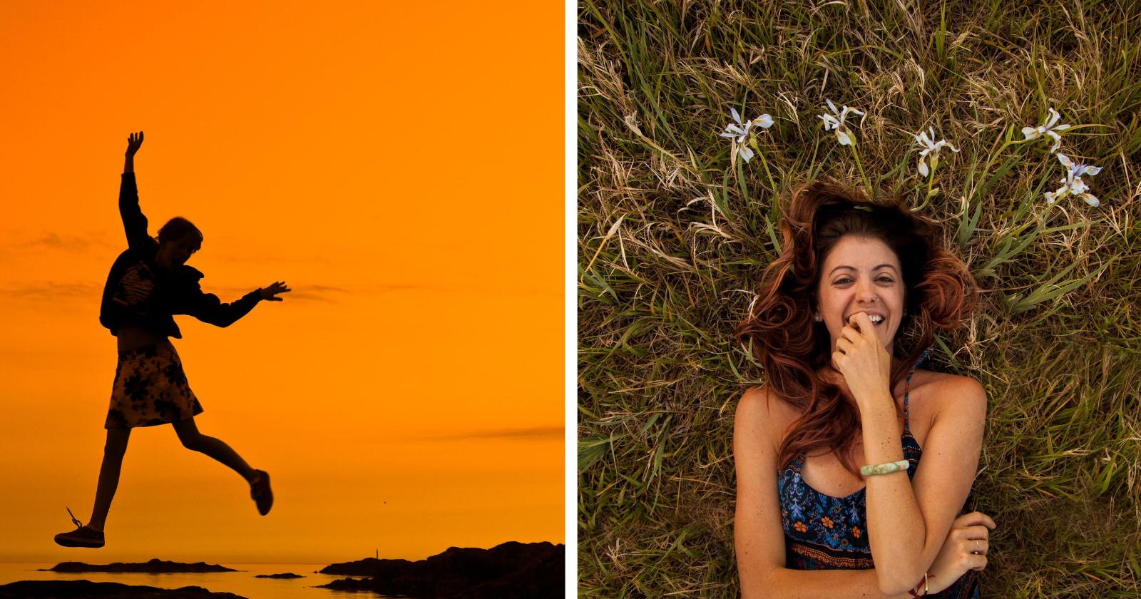10 maneiras de se tornar mais feliz em 30 segundos - ou menos!