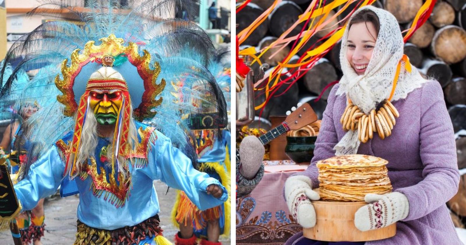Existe carnaval em outros países? Conheça os costumes mais BIZARROS