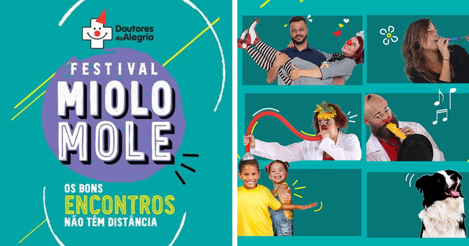 Doutores da Alegria tem grande Festival ao vivo para esse domingo!