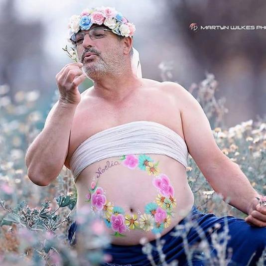 pai-faz-ensaio-grávido