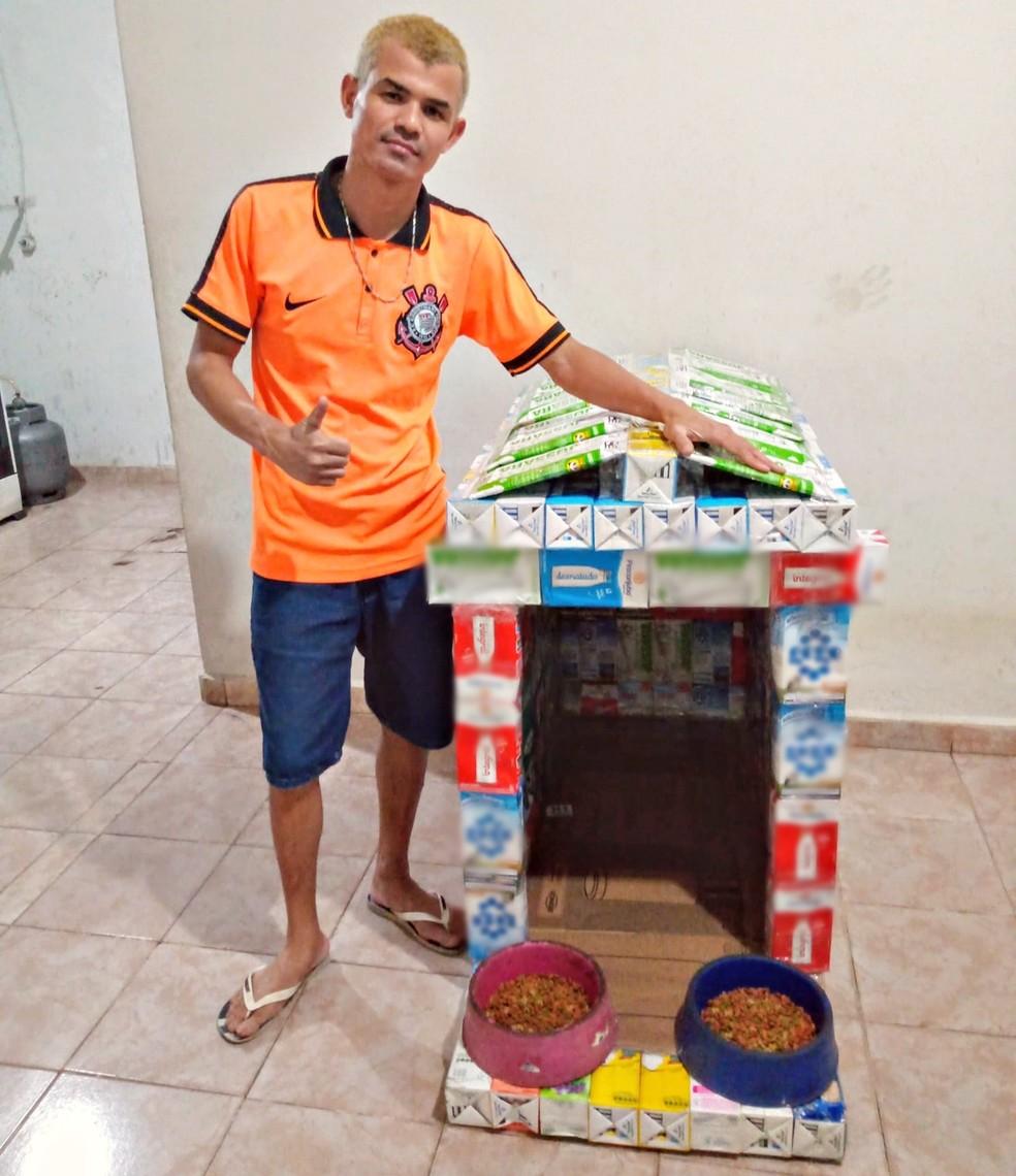 garoto-cria-casinha-para-abrigar-caes