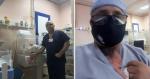 Enfermeiro cubano emociona ao salvar bebê usando o método super carinhoso