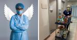 Enfermeira cria ação solidária, para ajudar amigos do hospital com produtos escassos na quarentena e resultado acolhe a todos!