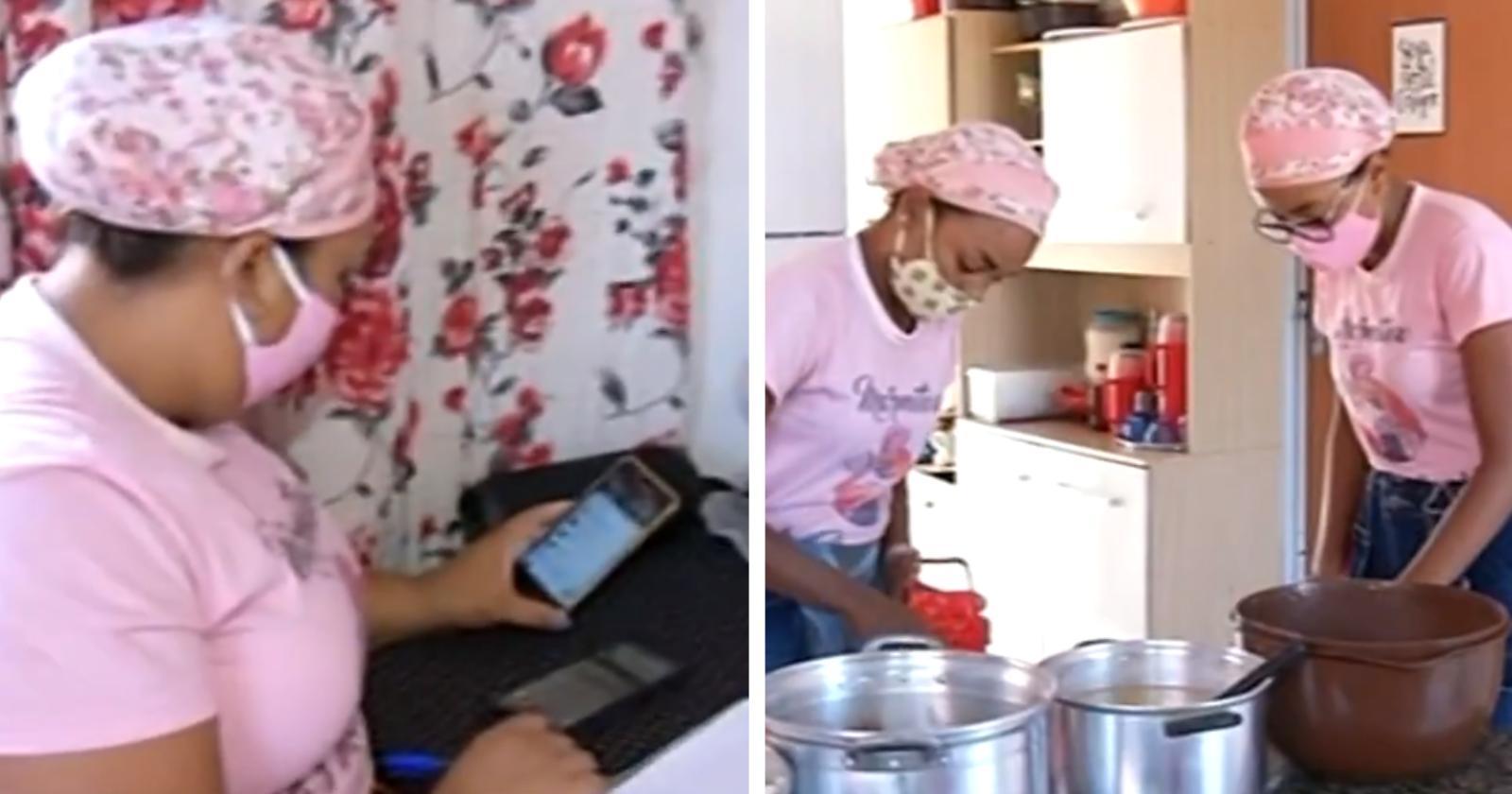 Família se une e transforma dinheiro do auxílio em R$ 6 mil fazendo algo que amam