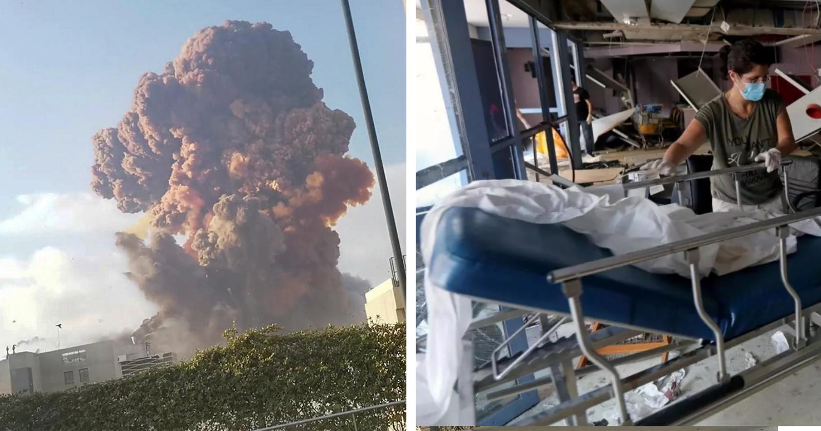 Enfermeira faz ato heroico e salva 3 recém nascidos em hospital, após tragédia em Beirute