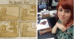 Artista cria 8 ilustrações incríveis para descrever como é duro a timidez