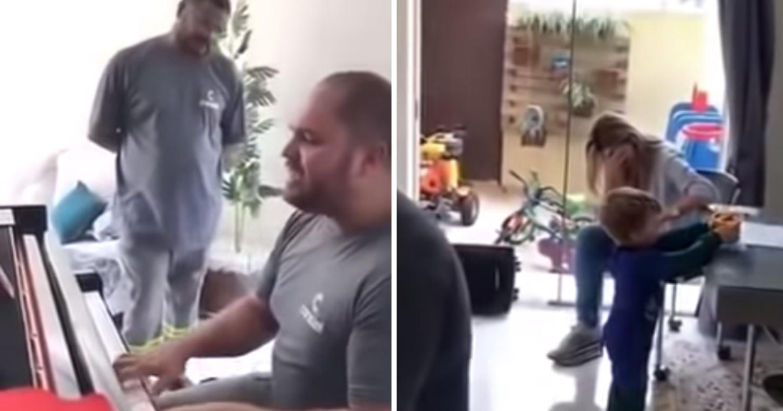 O dia em que os instaladores tocaram piano na casa da cliente (e emocionaram toda a web)