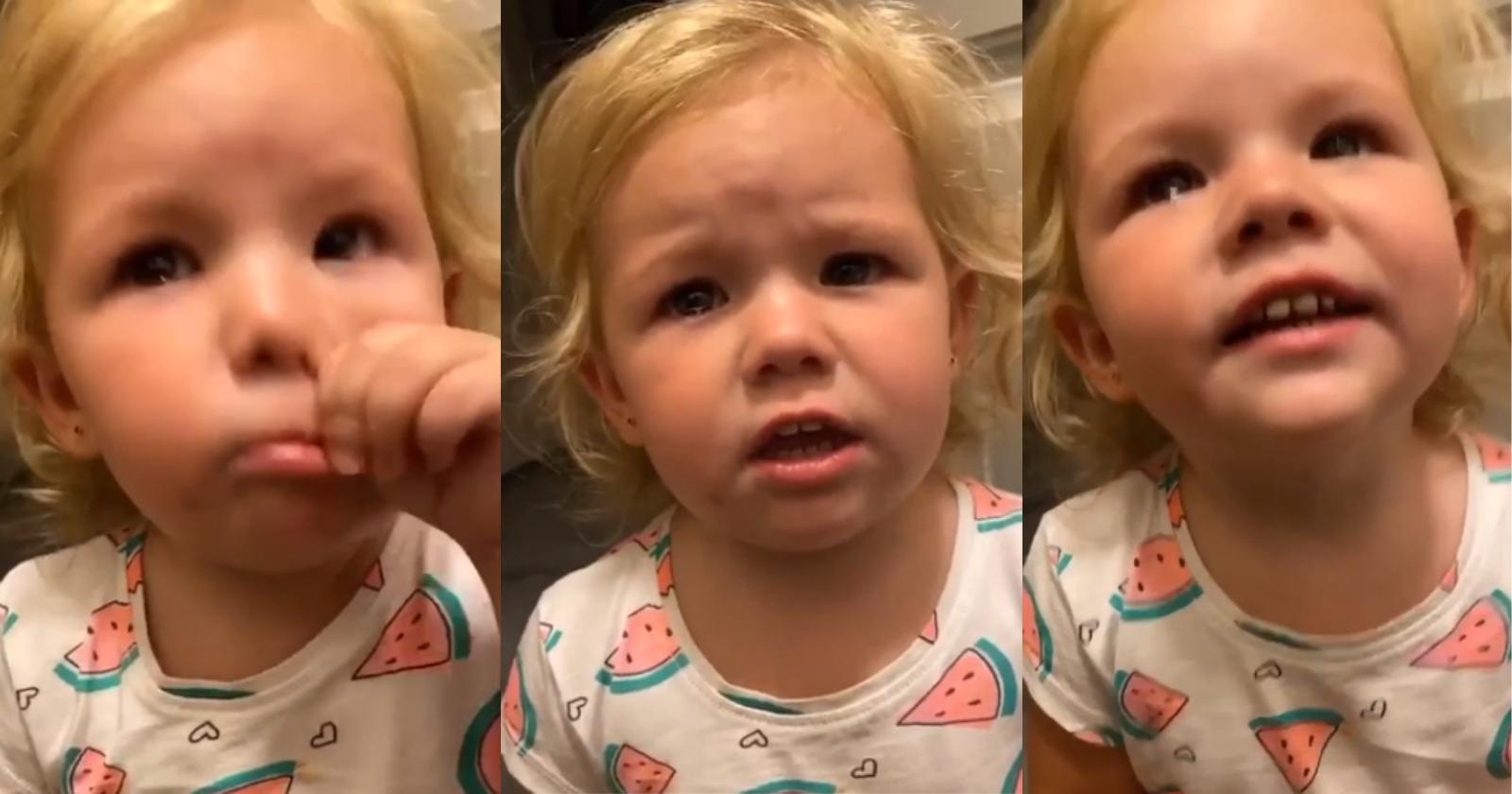 Mãe consola filha de forma diferente e reação de garotinha comove a web