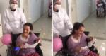 Asilo faz festa surpresa para comemorar a cura do Covid de seus pacientes