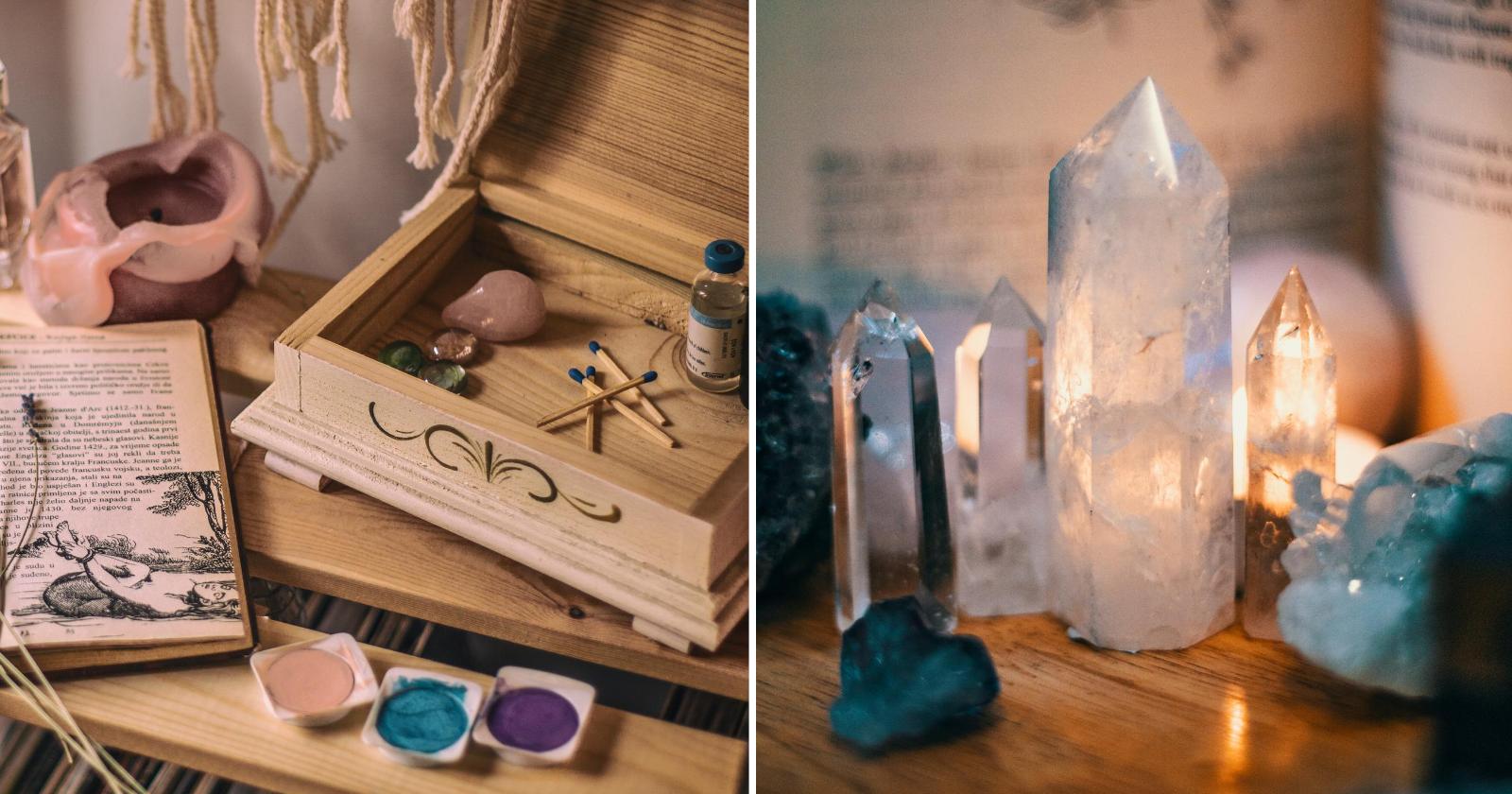 Saiba como limpar e energizar os seus cristais da forma CERTA!