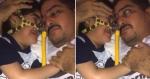 Vídeo de garoto com AME reencontrando seu pai após 2 meses emociona web com reação