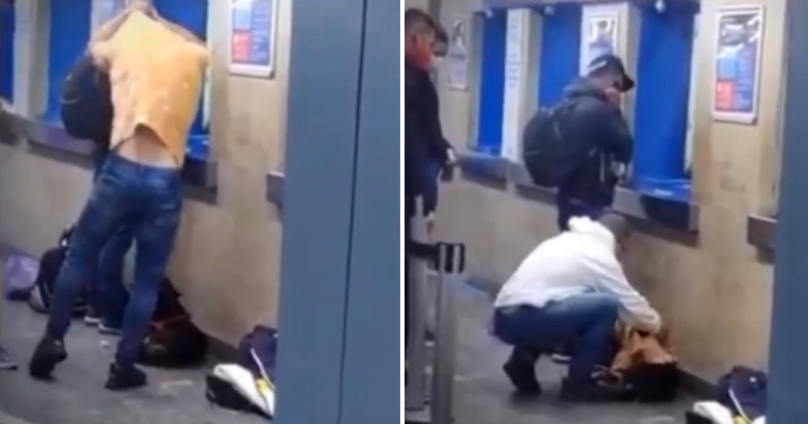 Rapaz faz gesto solidário emocionante para acolher cão de rua com frio