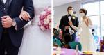 Após ter festa de casamento cancelada, casal decide fazer algo especial com o bufê