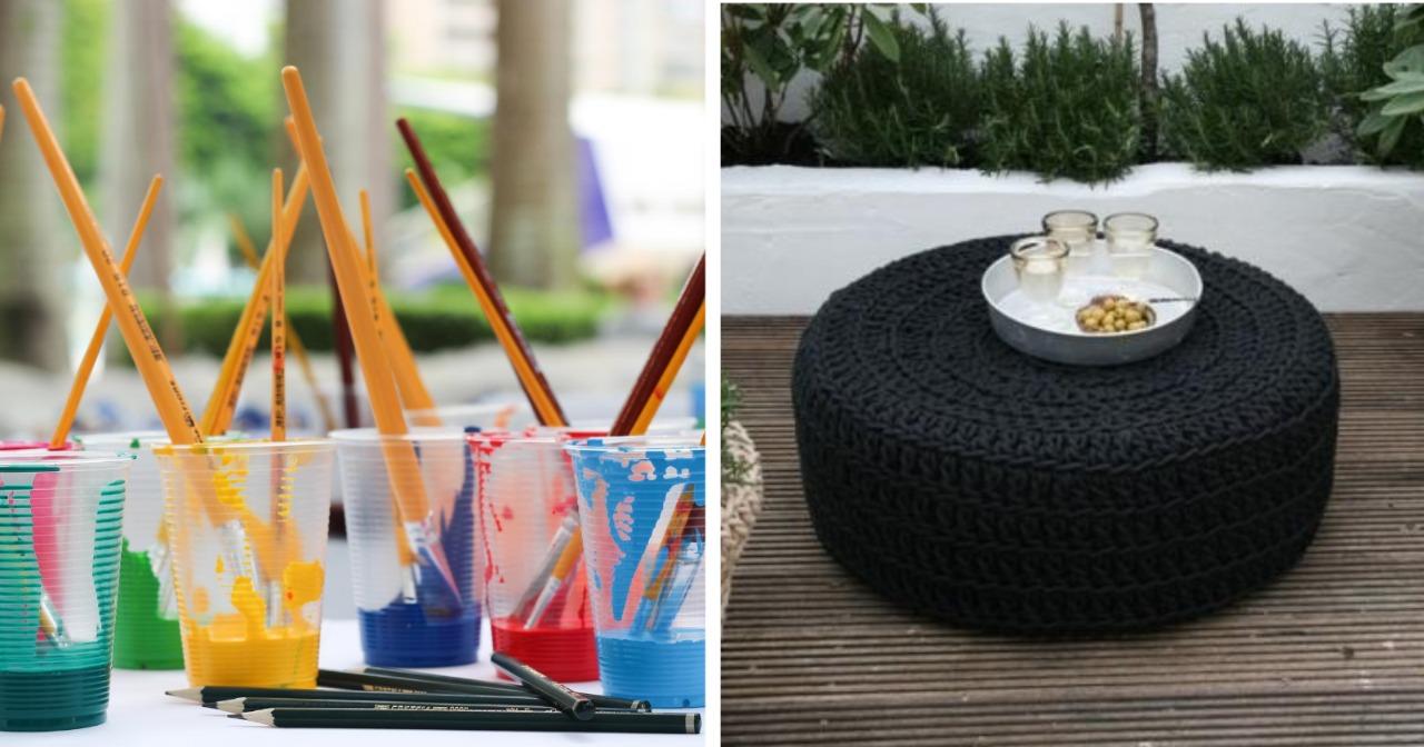 32 formas criativas para reciclar pneus velhos