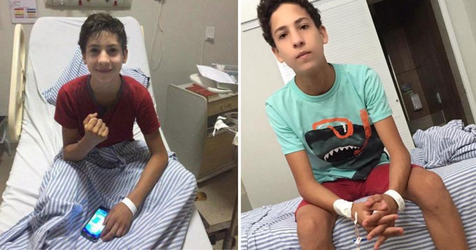 A extraordinária história do garoto que venceu a leucemia depois de 15 anos e constrói um legado de solidariedade