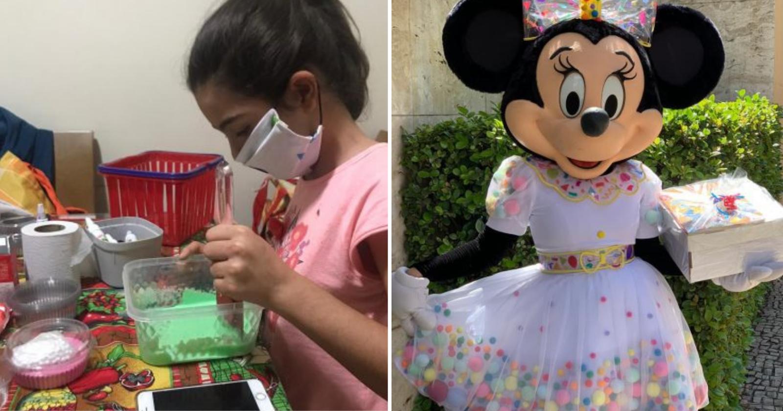 Essa garotinha trouxe sustento para a família durante a pandemia, ao criar...