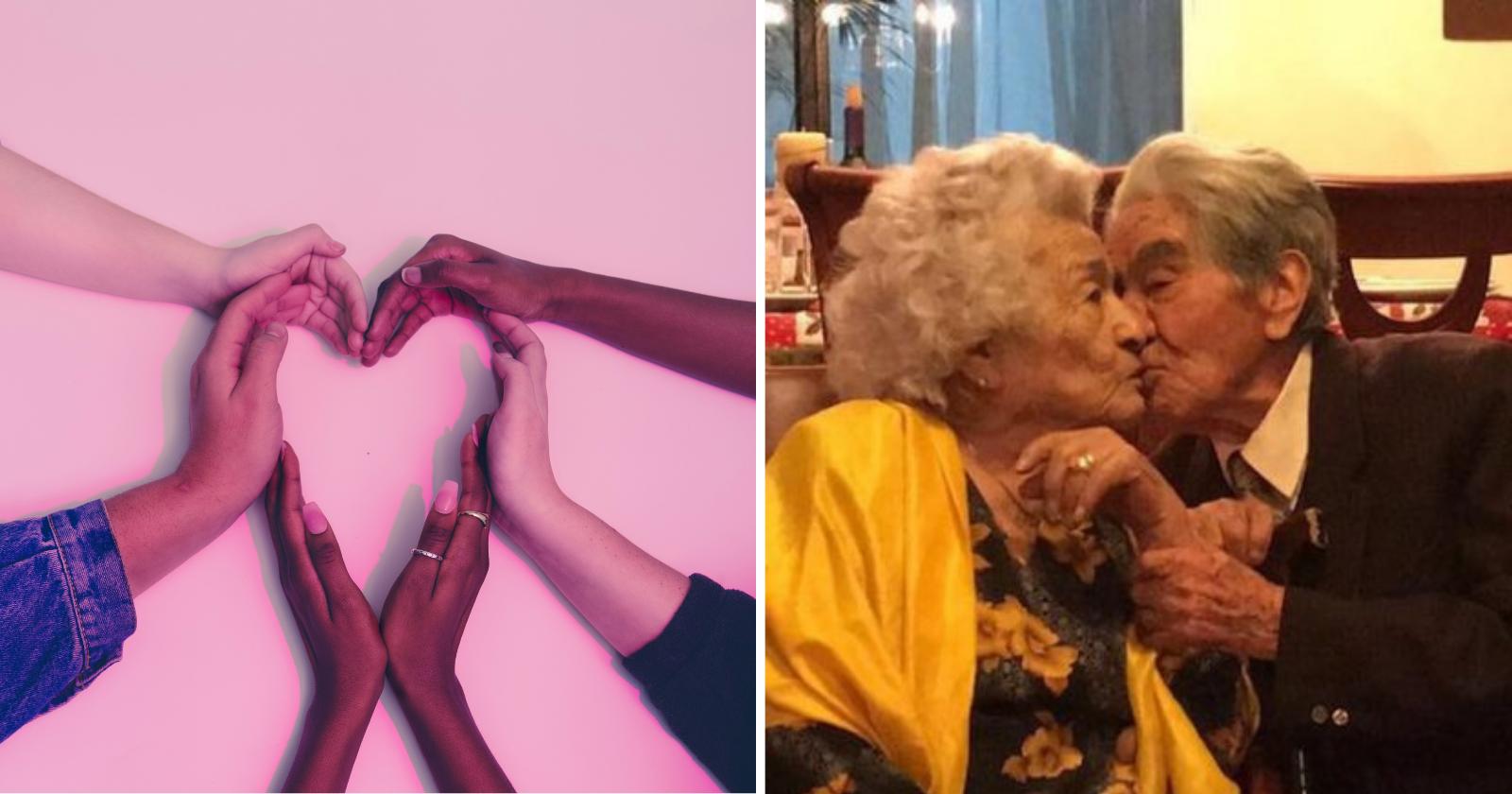 Apaixonados, casal equatoriano atinge recorde de casamento, comemorando idade de..