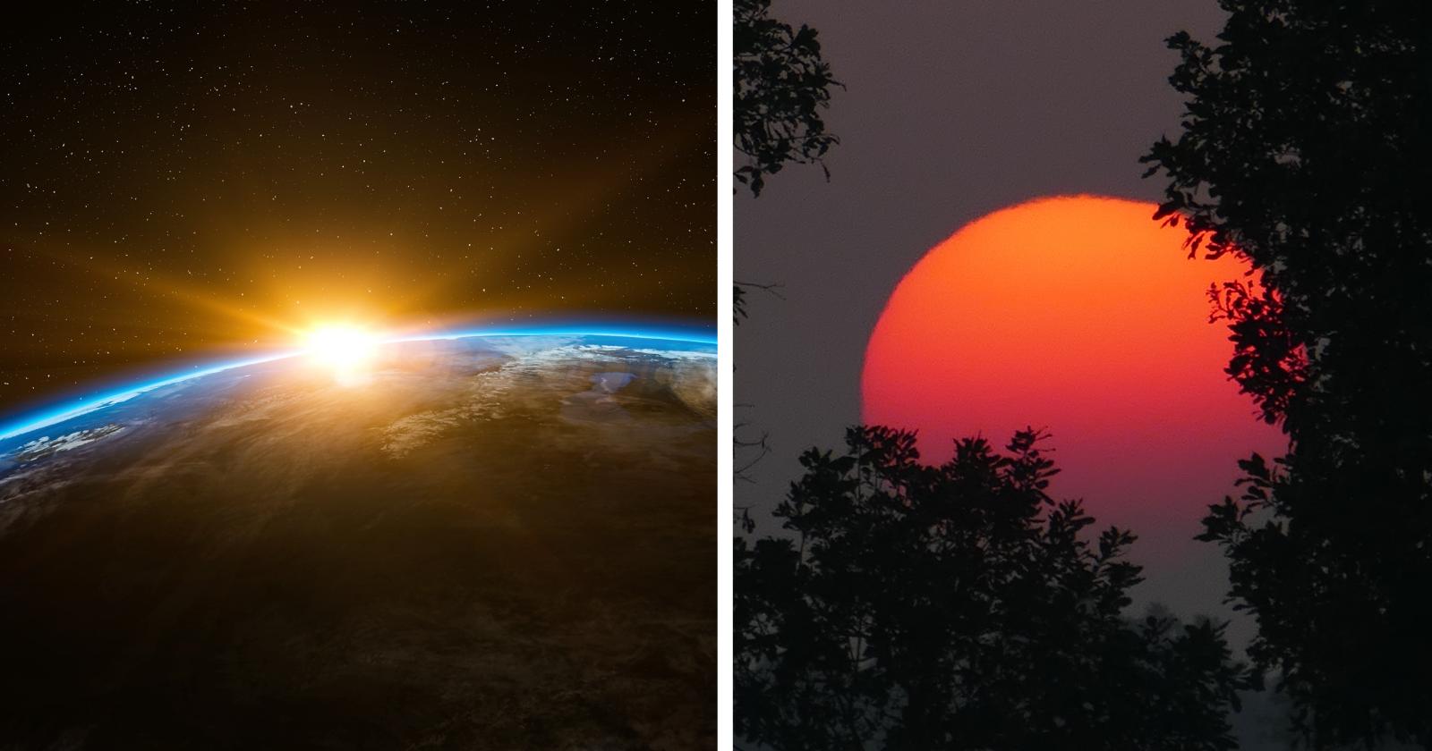Já imaginou como é o nascer do sol em outros planetas? Se encante com imagens!