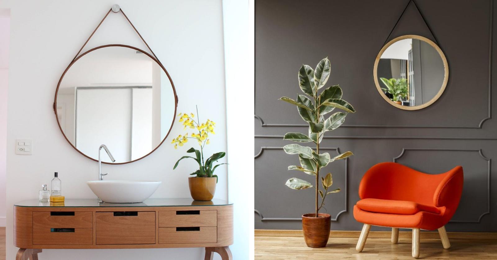 ECONOMIZE: aprenda a fazer um espelho redondo para decoração!