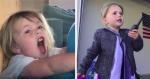 Garotinha de 4 anos viraliza ao recriar cenas icônicas de filmes, para ajudar necessitados