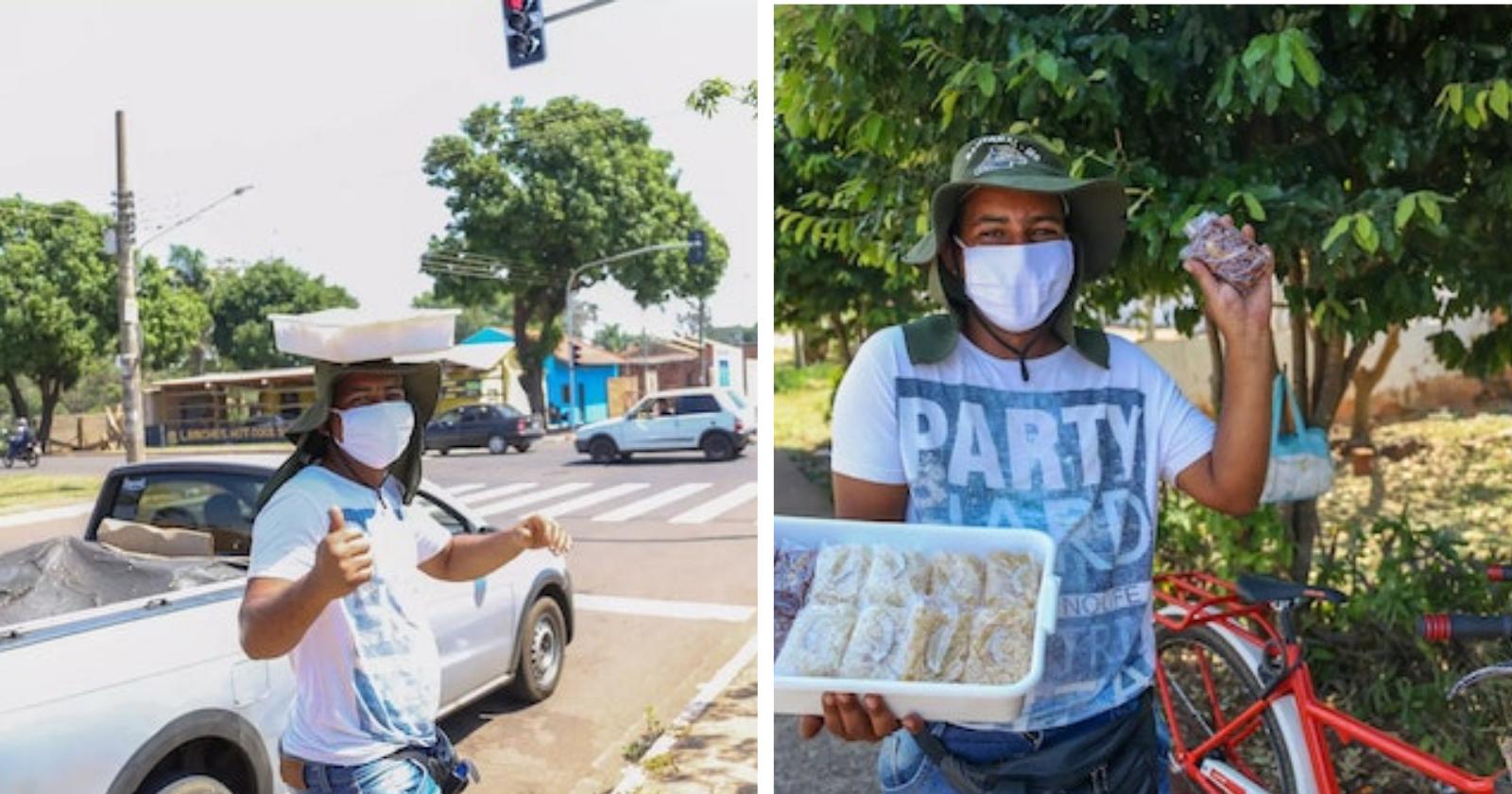 Depois de ter sua bicicleta roubada, vendedor de cocada recebe surpresa ainda MELHOR