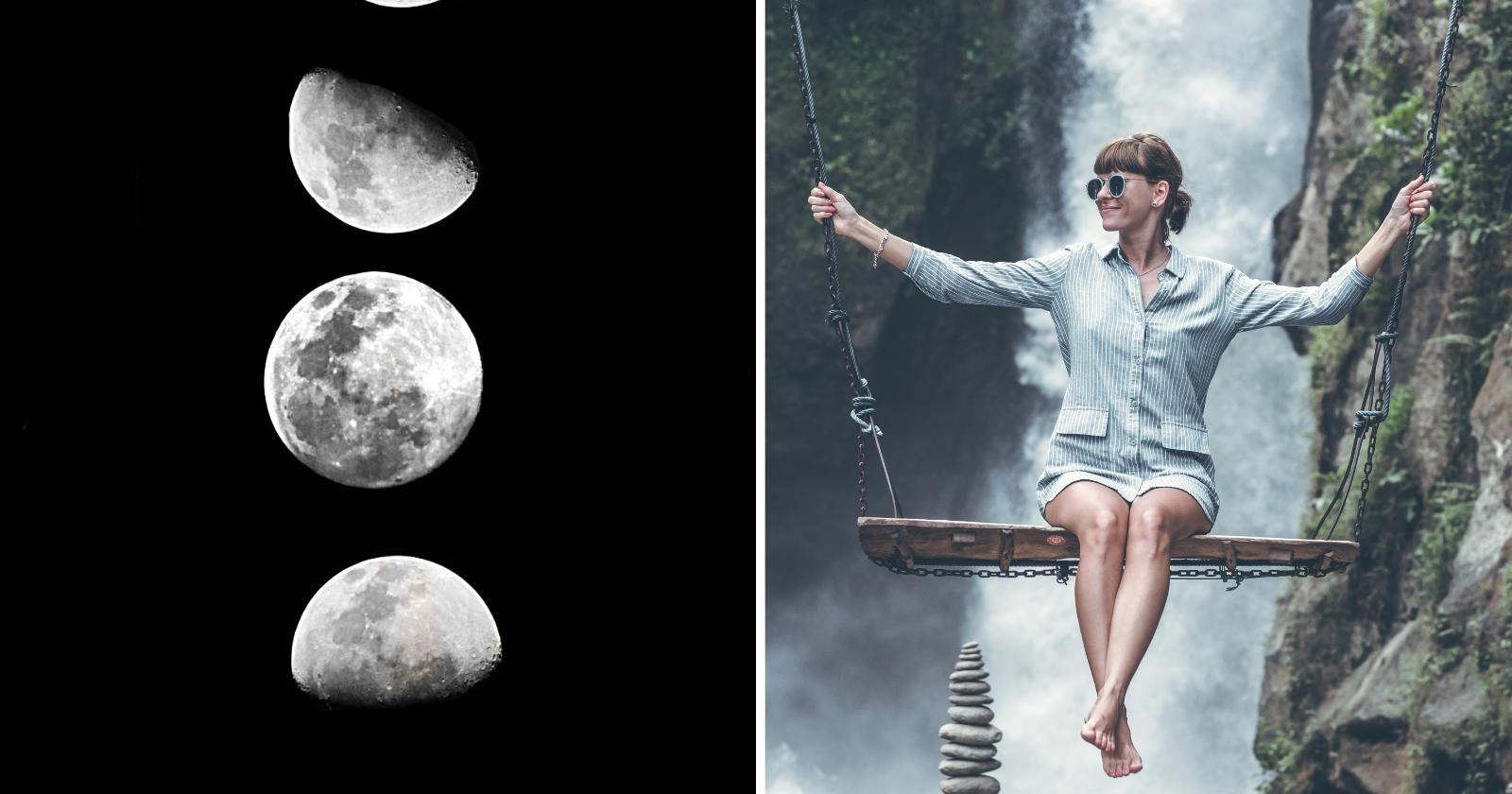 São os nodos lunares que definem sua personalidade e propósito, da seguinte forma...